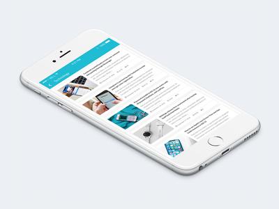 News App - Topic Feed 3/3