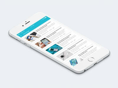 News App - Topic Feed 3/3 material design ui design article feed news feed ios app mobile news ui ux user interface