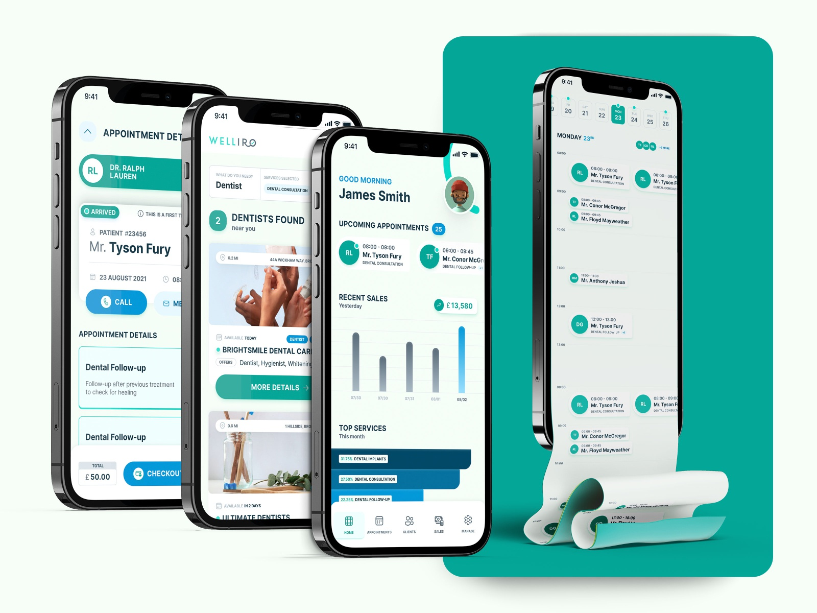 W - Booking App