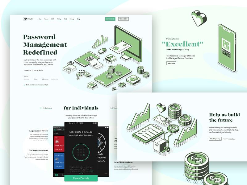 Password Management poland illustration wip concept website manager management password