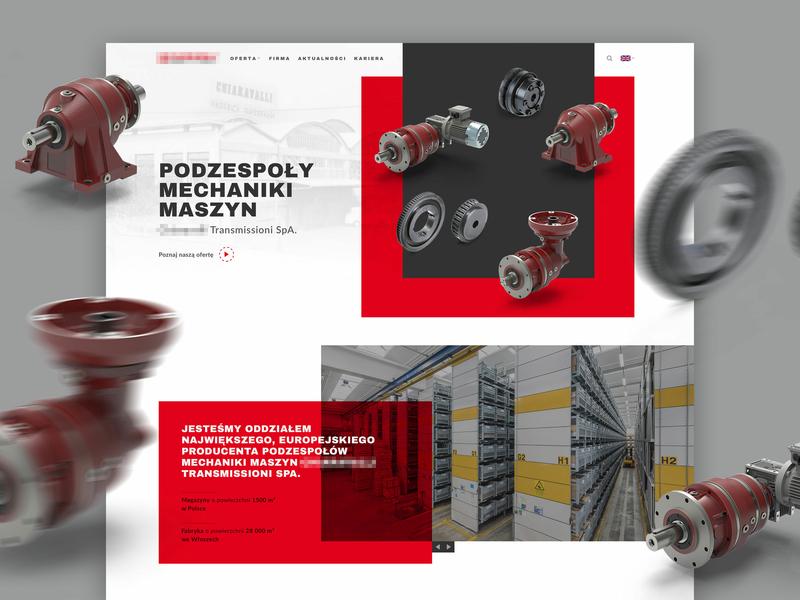 C  - Corporate Website engine concept wip poland website corporate