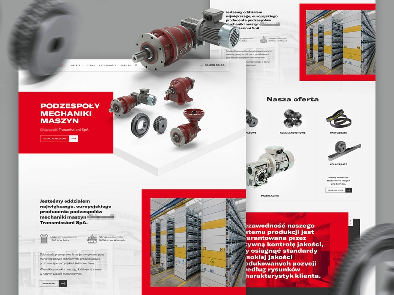 C - Corporate Website 2.0 engine poland wip website corporate concept