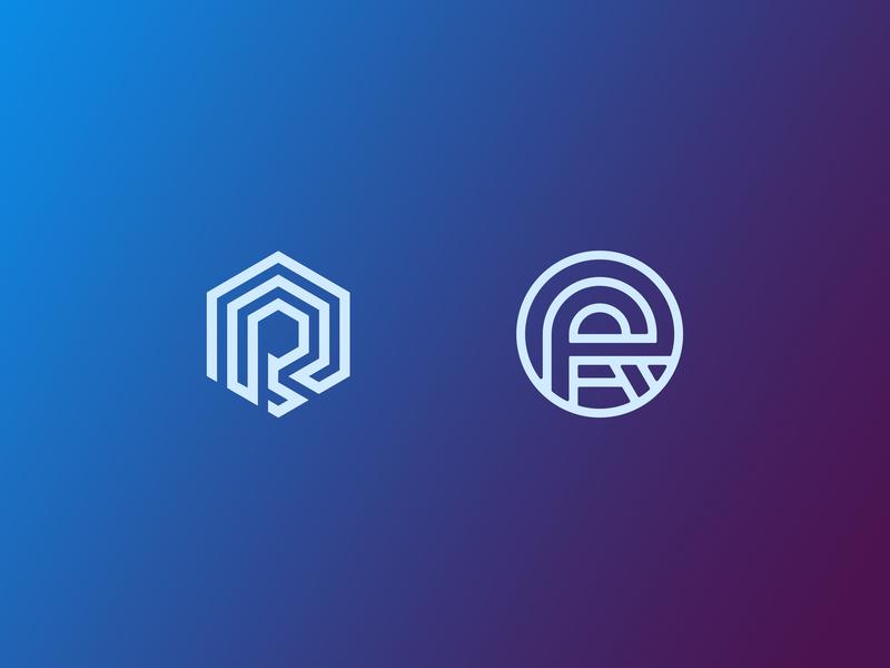 RP. Logo. Exploration. branding poland blockchain crypto wip expoloration icon sign logo