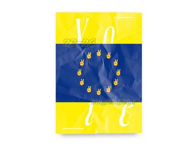 Vote - European Election Poster