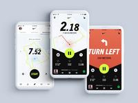 N - Nike Run Club - Concept