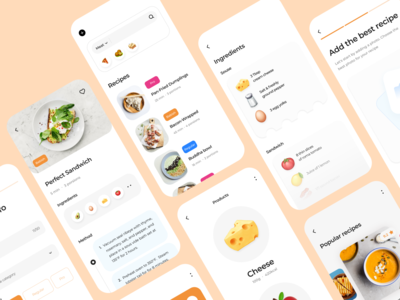 Recipe Food | App trends ux mobile ui ui recipe book recipe food app food ios mobile design mobile app mobile app