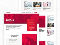 Fincons - Media page