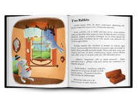 Illustration Two Rabbits Book