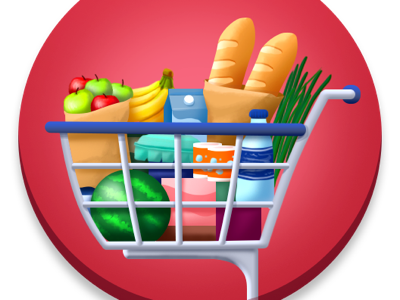 Supermarket icon for CodyCross shopping cart supermarket crosswords codycross android ios icon game