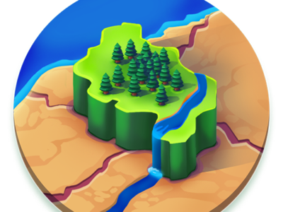 Countries icon for CodyCross illustration crosswords codycross land countries android ios icon game