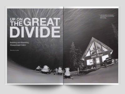Gavelda Great Divide Article Mockup development web ux ui wordpress mockup white black design editorial