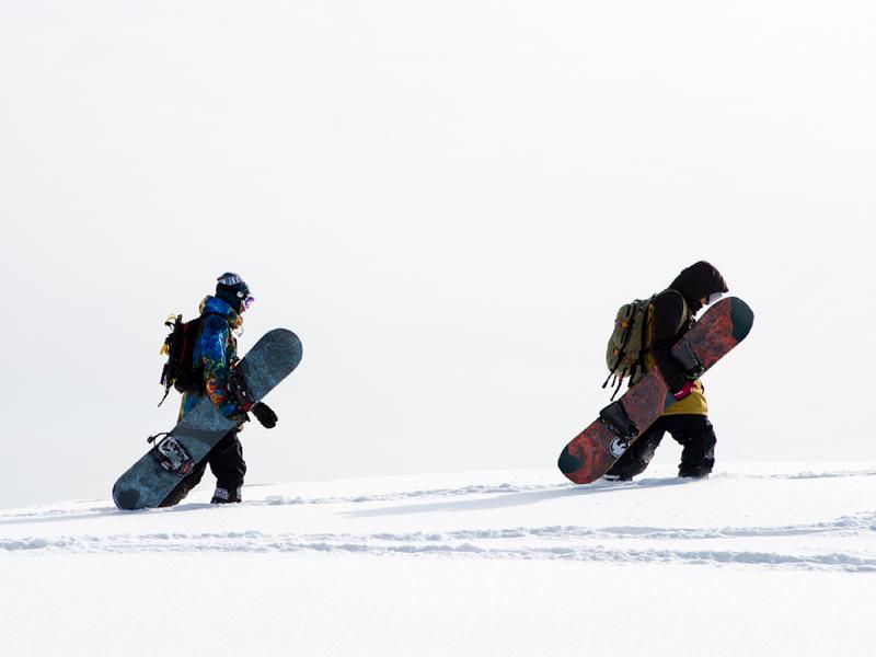 Topographic Snowboards Mockup environment map topo topography backcountry colorado snowboards