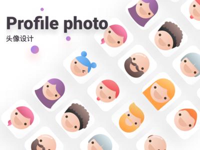 Profile photo design