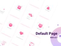 Default page /Emotional Design