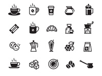 Simple Coffee Icons
