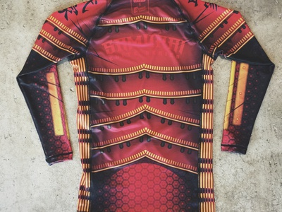 Samurai Rashguard Complete shirt jiu jitsu rash guard samurai