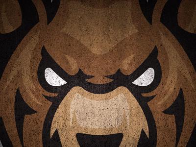 Bear Head Mascots mascot bear