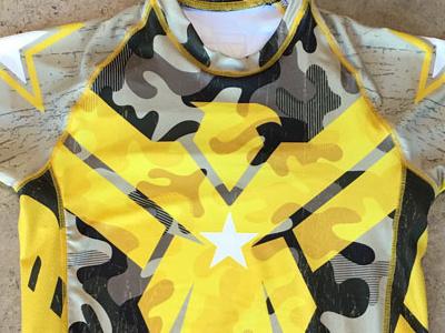 Military Rashguard brazilian jiu jitsu traditional camouflage military rashguard