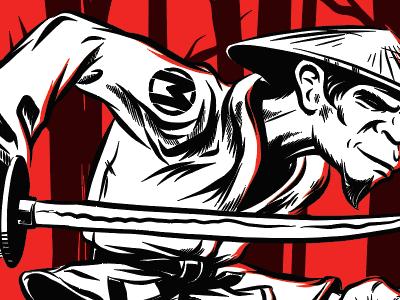 Monkey Samurai gi rashguard brazilian jiu jitsu samurai monkey
