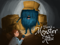 Illustrated Monster Book Cover
