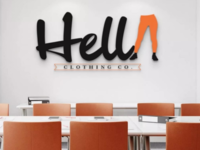 Hella Clothing Co. Logo