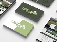 LANDmove Logo Design