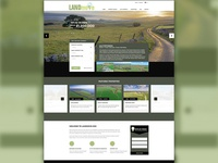 LANDmove Website Redesign