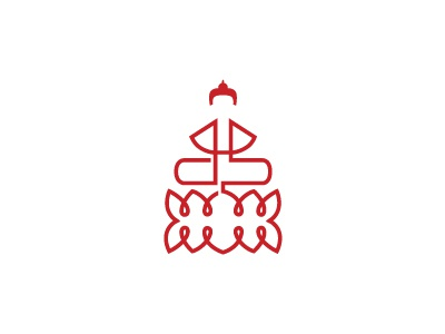 DharmaShop gopsokla buddha ds initial lotus monoline