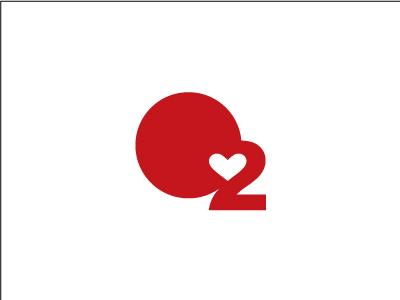O2 o2 oxygen air negative space minimal
