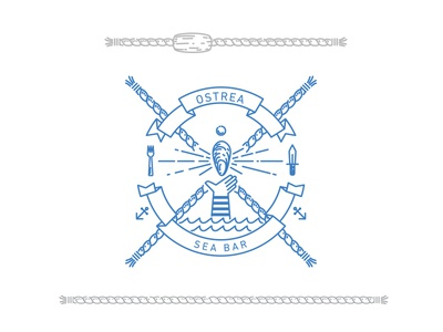 Ostrea  Logo bar sea paris ostrea logo