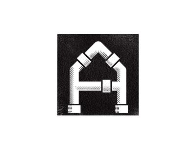 Alvarez Plumbing modenism plumbing logo iconography