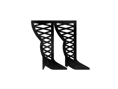 Leggs logo heals icon iconography leggs