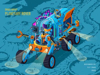 PLANETARY ROVER trend science probe travel atv space