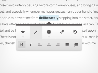 Edit Options barley editor ui icons interface bold content management