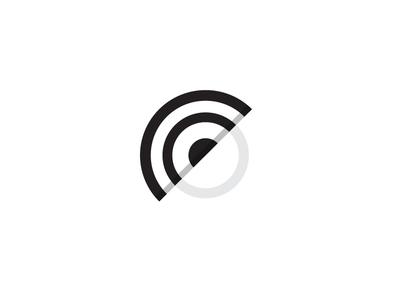 Eye C You mark monogram icon logo