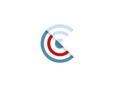 C Low mark monogram icon logo