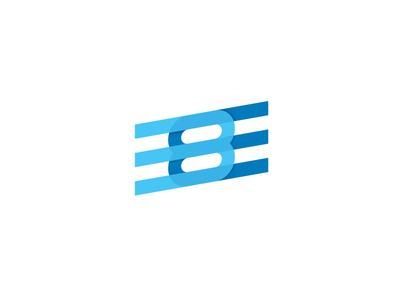 3e8 mark monogram icon logo