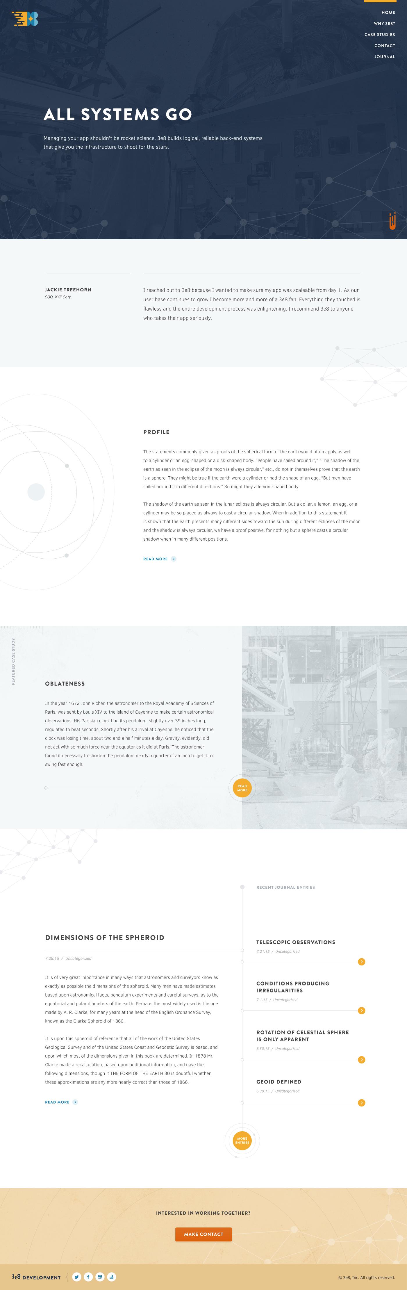 3e8 homepage