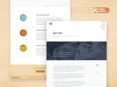 Lightspeed Too Slow!? web design clear sans brandon grotesque plain 3e8 website