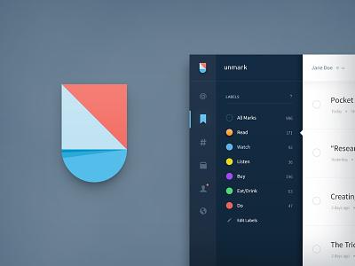 unmark v2 unmark u icon logo