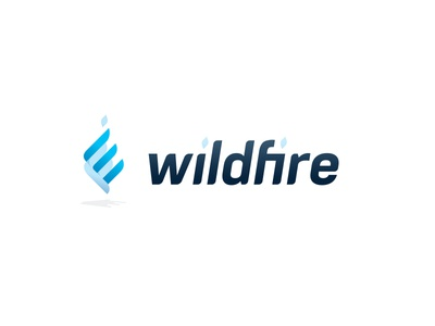 Wildfire Logo monogram mark logo