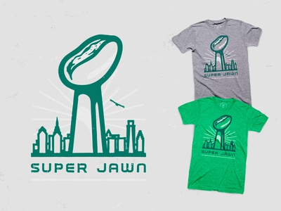Super Jawn jawn cotton bureau super bowl t-shirt football eagles
