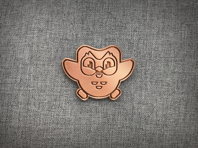 Duo Copper Pin