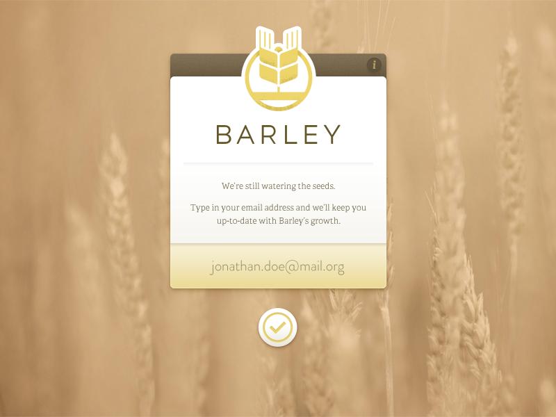 Barley tease