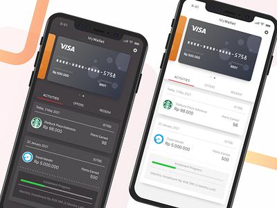 Credit Card Management fintech app money credit card creditcard banking finance