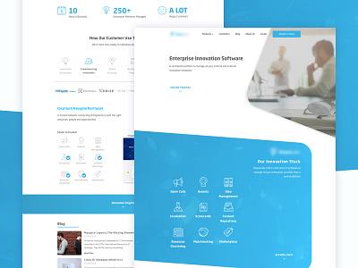 Landing Page Design Concept ui portfolio design landing-page