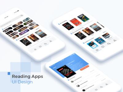 Books Social Media summary mobile ios design ui app book