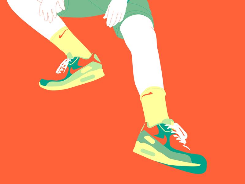 Orange in progress vector illustration