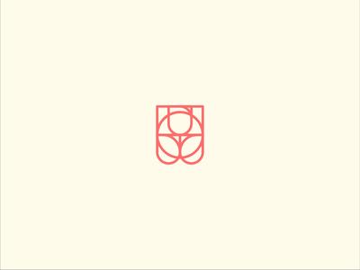 Roselab logo agency digital technical flower flower logo rose illustration vector branding design logotype logo design brand logo