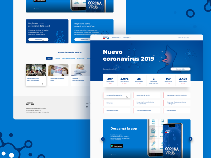 COVID 19 website web web design goverment website stats coronavirus covid19 illustration vector design ux ui